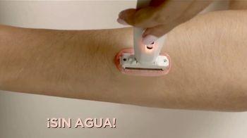 Finishing Touch Flawless Body TV Spot, 'Una mejor forma de depilarte' [Spanish]