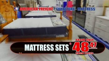 American Freight TV Spot, 'Mattress and Dining Sets' - Thumbnail 2