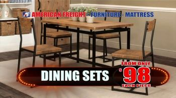 American Freight TV Spot, 'Mattress and Dining Sets' - Thumbnail 3
