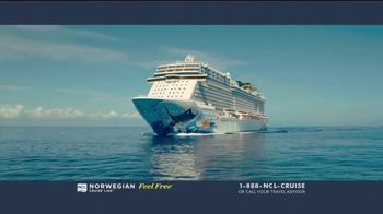 Norwegian Cruise Line Free at Sea TV Spot, 'Choose up to Five Free Offers: $299' Song by Andy Grammer - Thumbnail 1