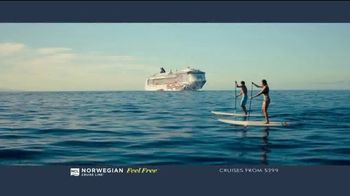 Norwegian Cruise Line Free at Sea TV Spot, 'Choose up to Five Free Offers: $299' Song by Andy Grammer - Thumbnail 5