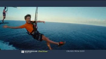 Norwegian Cruise Line Free at Sea TV Spot, 'Choose up to Five Free Offers: $299' Song by Andy Grammer - Thumbnail 6