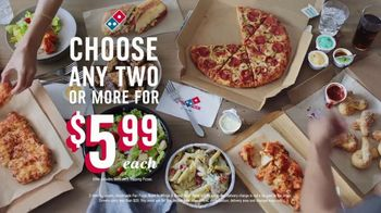 Domino's TV Spot, 'Our Thing' - Thumbnail 7