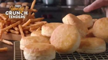 Popeyes Hot Honey Crunch Tenders TV Spot, 'Picnic' - Thumbnail 10