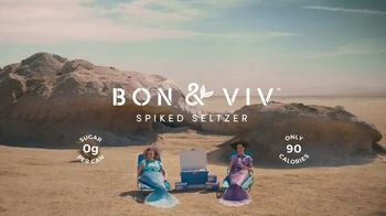 BON & VIV Spiked Seltzer TV Spot, 'By Any Ocean' - Thumbnail 10