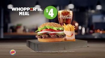 Burger King Whopper Meal Deals TV Spot, 'Feed Your Appetite' - Thumbnail 5