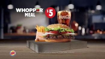 Burger King Whopper Meal Deals TV Spot, 'Feed Your Appetite' - Thumbnail 6