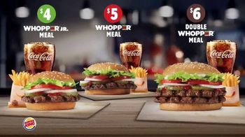 Burger King Whopper Meal Deals TV Spot, 'Feed Your Appetite'