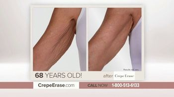 Crepe Erase Advanced TV Spot, 'Aging Skin' - 29 commercial airings