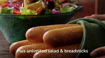 Olive Garden Buy One Take One TV Spot, 'Two Nights of Favorites: Shrimp' - Thumbnail 6