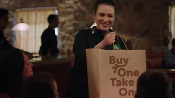 Olive Garden Buy One Take One TV Spot, 'Two Nights of Favorites: Shrimp'