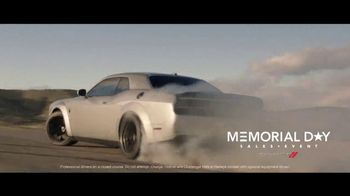 Dodge Memorial Day Sales Event TV Spot, 'Powerful Vehicles' [T2] - Thumbnail 1