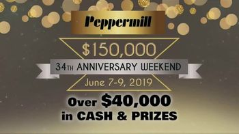 Peppermill Resort Spa Casino 34th Anniversary Weekend TV Spot, 'Don't Want to Miss' - Thumbnail 2