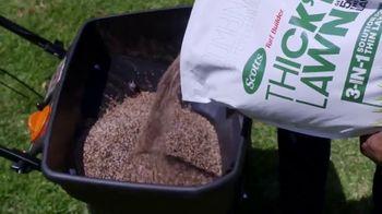 Scotts Turf Builder Thick'r Lawn TV Spot, 'HGTV: Spring Spruce Up' - Thumbnail 2