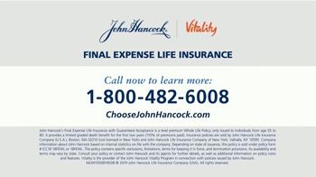John Hancock Final Expense Life Insurance TV Spot, 'No More Questions: $11.60 Per Month' - Thumbnail 9