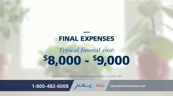 John Hancock Final Expense Life Insurance TV Spot, 'No More Questions: $11.60 Per Month' - Thumbnail 2