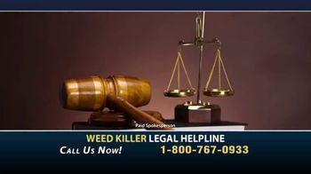 Weed Killer Legal Helpline TV Spot, 'Landmark Verdicts' - Thumbnail 1