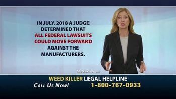Weed Killer Legal Helpline TV Spot, 'Landmark Verdicts' - Thumbnail 2