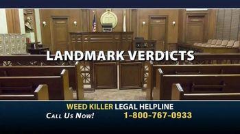Weed Killer Legal Helpline TV Spot, 'Landmark Verdicts' - Thumbnail 3