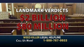 Weed Killer Legal Helpline TV Spot, 'Landmark Verdicts' - Thumbnail 4