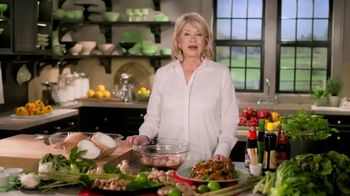 Postmates TV Spot, 'How to Make Thai Chicken Wings: $100 Credit' Featuring Martha Stewart - Thumbnail 1