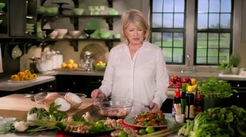 Postmates TV Spot, 'How to Make Thai Chicken Wings: $100 Credit' Featuring Martha Stewart - Thumbnail 2