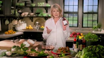 Postmates TV Spot, \'How to Make Thai Chicken Wings: $100 Credit\' Featuring Martha Stewart