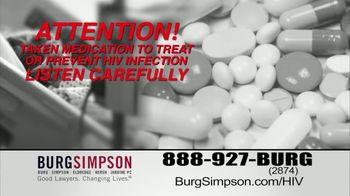 Burg Simpson TV Spot, 'HIV Drugs' - Thumbnail 3