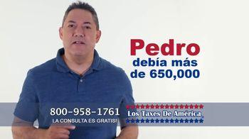 Los Taxes de América TV Spot, 'Pedro y Laura' [Spanish]