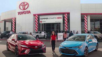 Toyota Summer Starts Here TV Spot, 'Activities' [T2] - Thumbnail 1