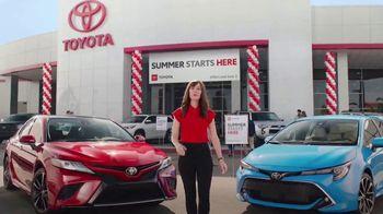 Toyota Summer Starts Here TV Spot, 'Activities' [T2] - Thumbnail 2