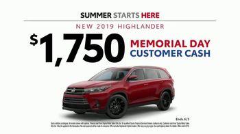 Toyota Summer Starts Here TV Spot, 'Activities' [T2] - Thumbnail 8