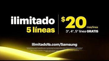 Sprint Unlimited TV Spot, 'Llévate cinco líneas con ilimitado: Galaxy S10' [Spanish] - Thumbnail 6