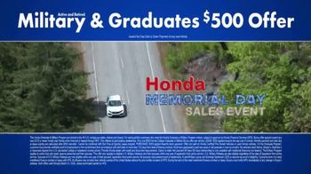 Honda Memorial Day Sales Event TV Spot, 'Civic and Accord' [T2] - Thumbnail 8