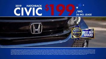 Honda Memorial Day Sales Event TV Spot, 'Civic and Accord' [T2] - Thumbnail 5