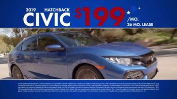 Honda Memorial Day Sales Event TV Spot, 'Civic and Accord' [T2] - Thumbnail 6