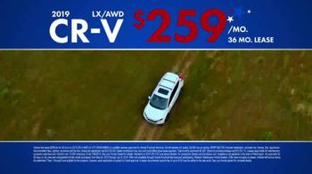 Honda Memorial Day Sales Event TV Spot, 'Adventure-Ready CR-V' [T2] - Thumbnail 6