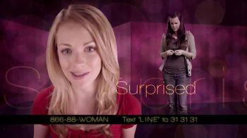 Pregnancy Line TV Spot, 'Surprise' - Thumbnail 1