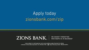 Zions Bank Zip Mortgage TV Spot, 'Love It to Own It' - Thumbnail 7