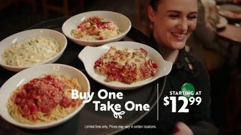Olive Garden Buy One Take One TV Spot, 'Two Nights of Favorites: Lasagna' - Thumbnail 8