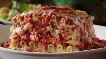 Olive Garden Buy One Take One TV Spot, 'Two Nights of Favorites: Lasagna' - Thumbnail 1