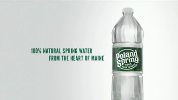 Poland Spring Natural Spring Water TV Spot, 'Sparkling Water' Song by Barns Courtney - Thumbnail 8