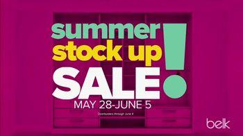 Belk Summer Stock up Sale TV Spot, 'Beach Towels and Sandals' - Thumbnail 2