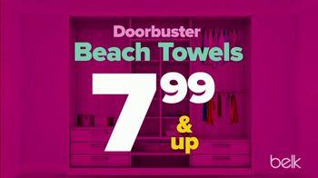 Belk Summer Stock up Sale TV Spot, 'Beach Towels and Sandals' - Thumbnail 3
