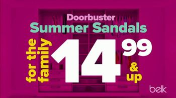 Belk Summer Stock up Sale TV Spot, 'Beach Towels and Sandals' - Thumbnail 4