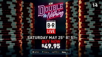 Bleacher Report TV Spot, 'AEW: Double or Nothing Live' - Thumbnail 8