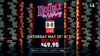 Bleacher Report TV Spot, 'AEW: Double or Nothing Live' - Thumbnail 7