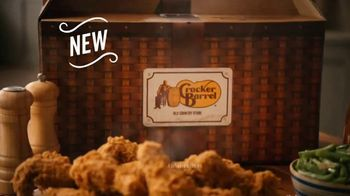 Cracker Barrel Southern Fried Chicken TV Spot, 'Homestyle Favorites: Over 50 Years' - Thumbnail 9