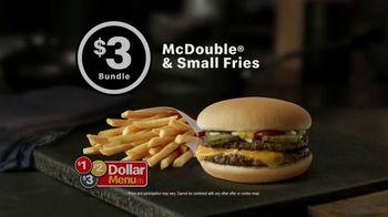 McDonald's McDouble & Small Fries Bundle TV Spot, 'Too Good to Last' - Thumbnail 3