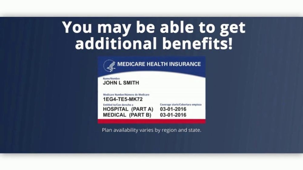 MedicareAdvantage.com TV Commercial, 'Additional Benefits May Be Available'